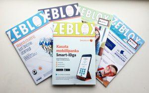 Erinevate aastate ZeBlox tudengivihikud